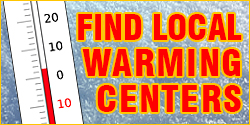 Find local warming centers