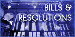 Bills & Resolutions